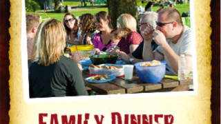 Activities help kids and families make dinners together a regular and positive event.