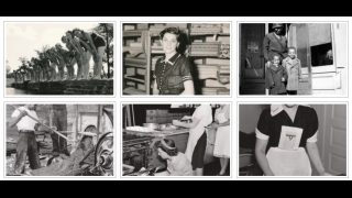 Browse through the photo archive to see what life was like at the time.
