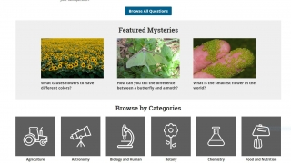 The Everyday Mysteries link can be used for quick interdisciplinary experiences especially for younger students.