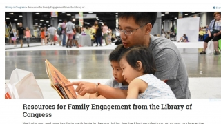 The Family Engagement Resources could be helpful while supporting distance learning.