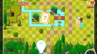 Tap on the map to see an overview of your current level.