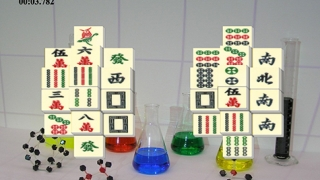Kids can take a break from chemistry to play Classic Mahjong.