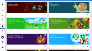 A great selection of games that rely on students solving math questions to progress