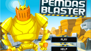 Destroy robots before they destroy you in this order-of-operations game.