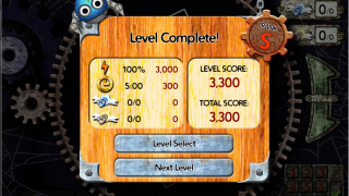 After each level, students receive scores in a variety of areas.