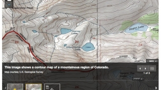 There are also contour maps from the U.S. Geological Survey.