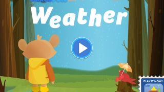 The main screen is cleanly designed, making navigation a snap for preschoolers.