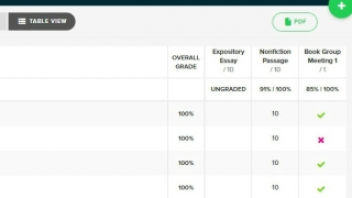 Assignment options can be scored as binary (complete/incomplete), by rubric, by score, or by observation.