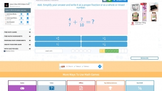 Practice questions track achievement but provide little feedback for incorrect answers.