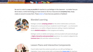 There are plans for a teacher dashboard and additional resources.
