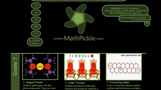 Math Pickle gives teachers ideas on how to use games and puzzles in K-12 math classes.
