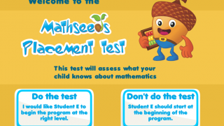 Placement tests help make sure kids are working at the right level.