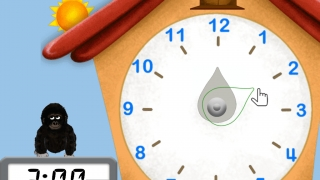 Play with clocks to learn about telling time.