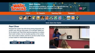 The site includes a teaching video and other supporting resources.