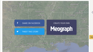Share or embed Meographs using social media.