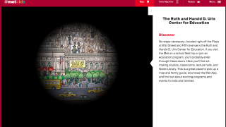 Explore an interactive map to check out the museum and its holdings.
