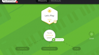 A series of missions build skills and facilitate exploration of different genres.