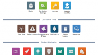 Assign lessons, set goals, and monitor student progress from the teacher dashboard.