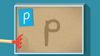 Tracing letter shapes in a sand tray brings a classic Montessori tool to the iPad.