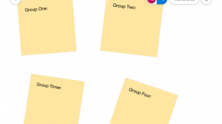 Students can easily collaborate on group or whole-class projects.