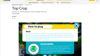 Some interactives include Kahoot sessions, while others are games that relate to the topic.