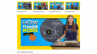 "Videos include entire series such as ""How Things Work,"" getting students to come back for more."