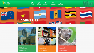 Students can explore many different countries throughout the world.
