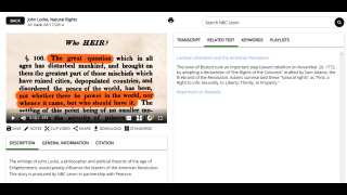 NBC Learn is partnered with Newsela, offering linked texts available on the Newsela website.
