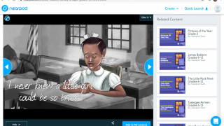 Integrations like Flocabulary enable teachers to easily build meaningful multimedia presentations.