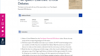 There are about 150 lesson plans available, including all relevant materials and sources.