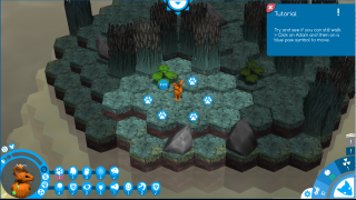 The built-in tutorial takes players through game mechanics and beginning their own animal population.