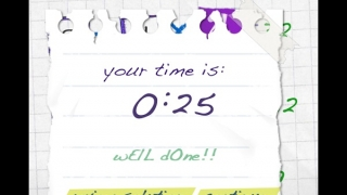 Kids can challenge themselves to beat their best time or compare scores on Game Center.