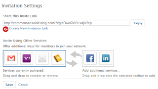 You can invite members with a private link or through other social networks.