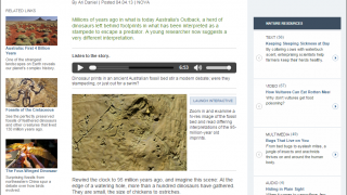 Read about how different researchers interpret fossil evidence.