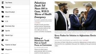 Offers comprehensive online and offline access to the NYT.