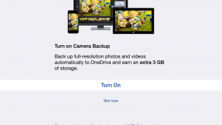 OneDrive is Microsoft's cloud storage service. One of its best features for mobile devices is its easy photo syncing feature.