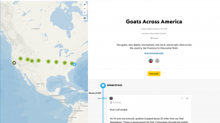 Some expeditions have a smaller scope, such as searching for goats across America.