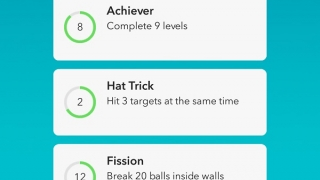 Earn achievements by completing objectives.