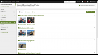 Share photos of special events or daily classroom highlights.
