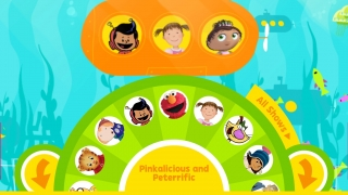 Main directory for games and videos from a variety of PBS Kids programs