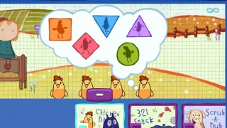 A collection of games address a variety of math skills.