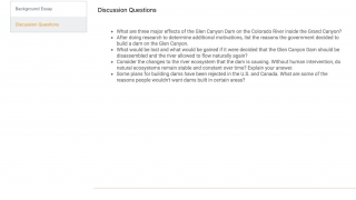 Most entries come with support materials such as supplemental text, activity suggestions, and discussion questions.