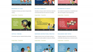 The Orchard is a library of teacher created lessons that users can duplicate and modify.