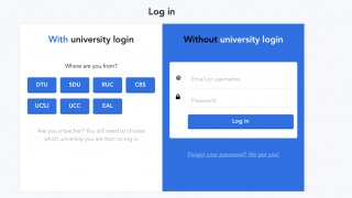 Teachers create an account to get started; several international universities use the tool extensively and allow easy sign-in with a university ID.