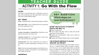 Teacher's Guides from Physics Quests give descriptions of experiments.