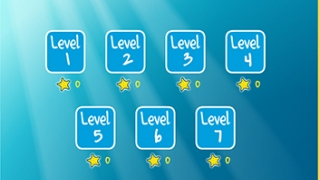 There are seven levels, with seven puzzles in each level.