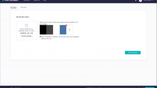 Pro users can also have brand-specific colors and fonts set up.