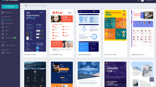 Hundreds of built-in templates make getting started quick and simple.
