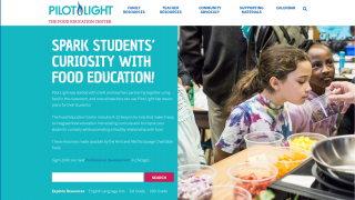Pilot Light is a food education curriculum that integrates into the classroom or home.