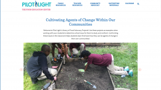 Community connections and advocacy educate on food-based challenges.